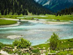 Karakol Natural Park, Issykkul, Kyrgyzstan.
