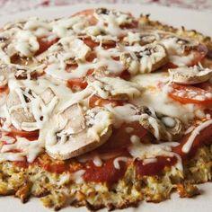 Vähähiilihydraattinen ja terveellinen pizza – pohja valmistuu yllättävästä aineksesta