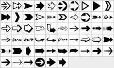 Brushes - Arrows for Project Life digital pages Digital Project Life, Project Life Cards, Photoshop Shapes, Free Photoshop, Shape Design, Logo Design, Make Your Logo, Unique Logo, Vector Shapes