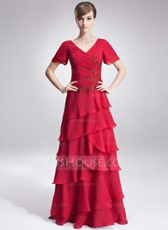 Mother of the Bride Dresses - $149.99 - A-Line/Princess V-neck Floor-Length Chiffon Mother of the Bride Dress With Ruffle Lace Beading Sequins (008006479) http://jjshouse.com/A-Line-Princess-V-Neck-Floor-Length-Chiffon-Mother-Of-The-Bride-Dress-With-Ruffle-Lace-Beading-Sequins-008006479-g6479/?utm_source=crtrem&utm_campaign=crtrem_US_40544