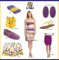 Stylish Gameday : Elevate your tailgate experience. #LSU #GEAUXTIGERS