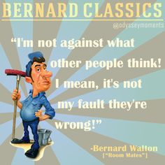 "Bernard Walton | ""Room Mates"" 
