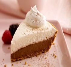 healthy, low calories, low fat, low cholesterol, low sodium, low carbohydrates, WW, PointsPlus+, diet, dessert, chocolate, pie, double chocolate pie, recipe