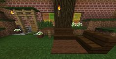 Better outdoor view of my hobbit hole with outdoor seating!