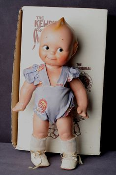 1930's Kewpie-original clothes/box
