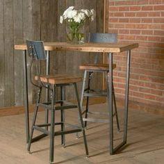 8 mejores imágenes de Mesas altas en tu hogar | Industrial furniture ...