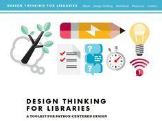 Boite à outils pour les bibliothèques : Subventionnées par la Fondation Bill et Melinda Gates, les bibliothèques publiques de Chicago (États-Unis) et de Aarhus (Danemark) ont travaillé avec la compagnie IDEO pour créer une méthode de réflexion pour les bibliothécaires. Cette méthode emprunte au Design Thinking et s'applique aux bibliothèques : elle est centrée sur les attentes et l'expérience des utilisateurs. Le fruit de leur réflexion a été rassemblé dans une boîte à outils...