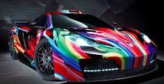 McLaren memoR by Hamann: Psychedelic patrol Super Fast Cars, Mp4 12c, Fast Sports Cars, Shops, Cheap Car Insurance, Mclaren Mp4, Car Painting, Car Wrap, The Body Shop