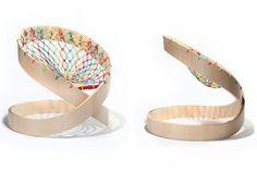 Liviano y con muchas curvas, un asiento con mucha personalidad, desarrollado artesanalmente y con tecnología moderna