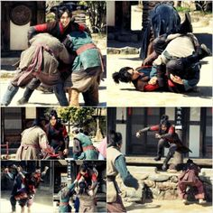 Lee Seung Gi performs his first action scene for 'Book of the House of Gu'
