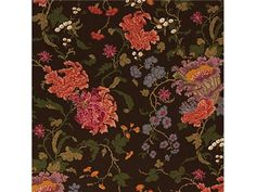 Ch'ien Lung Pri Walnut by Lee Jofa Fabric Patterns, Print Patterns, Asian Fabric, Mulberry Home, Lee Jofa, Fabric Houses, Print Finishes, Lunges, Color Show