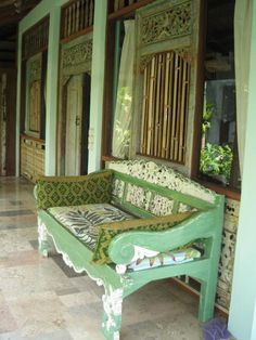 Furniture created in Bali is becoming more popular....