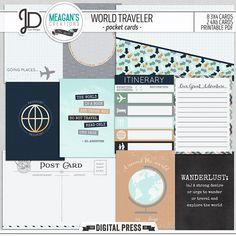 World Traveler | Pocket Cards