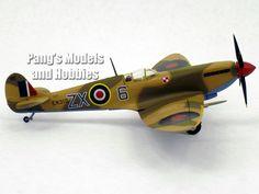 Supermarine Spitfire Mk. IX RAF Desert Camo 1/72 Diecast Metal by Sky Guardians