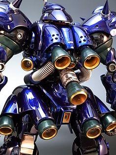 Painted Build: MG Kampfer Chrome Gundam Wing, Gundam Art, Armored Core, Gundam Astray, Arte Robot, Gundam Wallpapers, Gundam Mobile Suit, Gundam Custom Build, Gunpla Custom