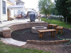 Above Ground Pool Removed And Turned Into A Sunken Garden