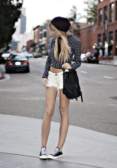 Urban Outfitters Hat, Urban Outfitters Button Up, One Teaspoon Shorts, Proenza Schouler Ps1 Bag, Converse