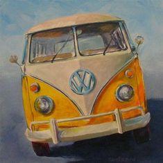 """YELLOW SAMBA"" - Original Fine Art for Sale - © Brian Cameron"