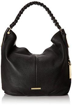 #saucy  Vince Camuto Nora Hobo Shoulder Bag,Black,One Size