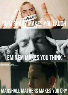 Slim Shady, Eminem, Marshall Mathers