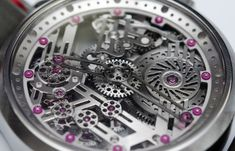 Unique Skeletonized Watches By Molnar Fabry: Hands On And Workshop Visit look inside manufacture