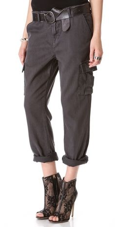 I so need these!!   | J Brand Croft Easy Cargo Pants - Street Fashion Style Boutique