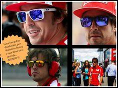 Alonso FAN total de OAKLEY.