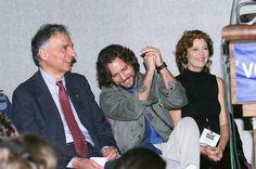 Ralph Nader, Eddie Vedder  and Susan Sarandon. 2000