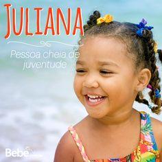 Quem aí tem uma Juliana em casa ou na barriga? No nosso site você encontra mais curiosidades desse e de muuuitos outros nomes lindos!