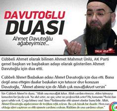Cübbeli Ahmet Hoca'dan Başbakan Davutoğlu'na dua.  12Yıldır BüyüyenTÜRKİYE YeniTürkiyeİçin KeMALeBaşarılar pic.twitter.com/AEL4OBgTo1