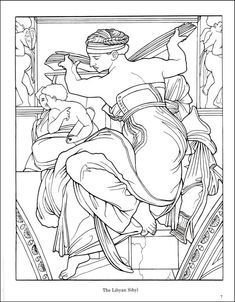 Sistine Chapel Coloring Book   Additional Photo (Inside Page)