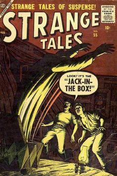 Bill Everett. Strange Tales 55