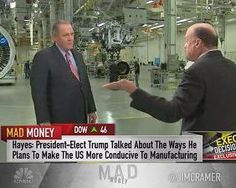 Jim Cramer spoke with United Technologies CEO Greg Hayes on what President-elect Donald Trump requested of him at Carrier last week.