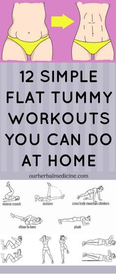 12 Simple Flat Tummy Workouts You Can Do At Home – drlokman - How to Lose Weight Lose Fat, Lose Belly Fat, Lose Weight, Weight Loss, Flat Tummy Workout, Belly Fat Workout, Stomach Workouts, Diet Plans For Women, Workout Regimen