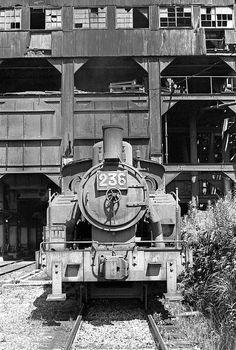 平山坑の蒸機