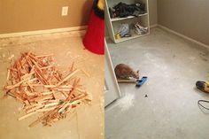 How To Paint A Concrete Floor DIY Ready   DIY Projects   Crafts - DIY Ready   DIY Projects   Crafts