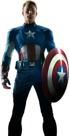 Captain America (Chris Evans) So do not throw away your confidence; it will be richly rewarded. You need to persevere so that when you have done the will of God, you will receive what he has promised. Hebrews 10:35-36... Just think of yourself as Captain America and what would happen if you threw away your confidence ?