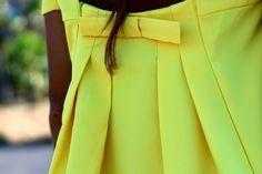 Marilyn's Closet - FASHION BLOG: Yellow Mellow
