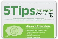 Tips to make writing easier | Articles | Home