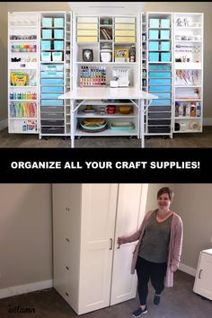 Transform Your Craft Room Transform Your Craft Room It s Always Autumn itsalwaysautumn Home See how my brand new DreamBox has completely transformed my craft nbsp hellip Room decor videos Craft Room Storage, Craft Storage Cabinets, Sewing Room Storage, Sewing Room Organization, Organization Ideas, Paper Storage, Organizing Sewing Rooms, Office Storage Ideas, Storage Room Ideas
