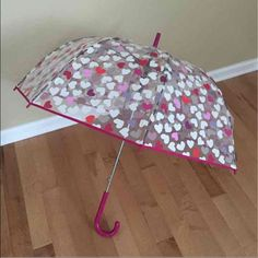 Kate Spade Bubble Hearts Umbrella New with tags! Retails $60, price is firm:) kate spade Accessories Umbrellas