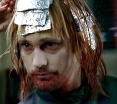 Two things I love...hair color and Eric Northman from True Blood :)