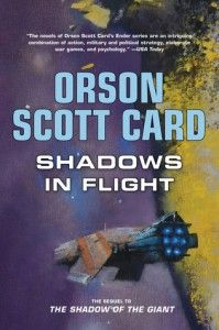 Top 10 Science Fiction Books 2012: Shadows in Flight by Orson Scott Card