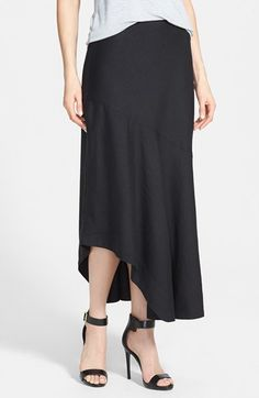 NIC+ZOE 'The Long Engagement' Linen Blend Maxi Skirt available at #Nordstrom