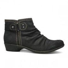 fdd4a0e8958cef Cobb Hill Nicole Black Leather Boot (Women) Cobb Hill Shoes