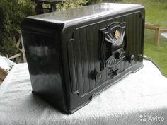 Telefunken 340 приемник 1925 года бакелит