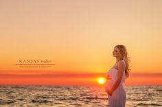 Ashley & Lane Awaiting Baby Caleb | Santa Rosa Beach Sunset Beach Maternity Photographer | kansas studios | kansas pitts photography