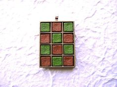 Kawaii Food Pendant Green Tea And Milk by SouZouCreations on Etsy, $10.00