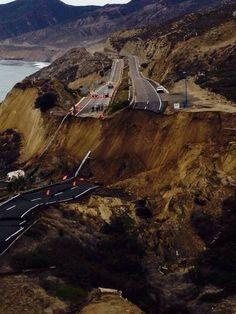 Tijuana-Ensenada Scenic Highway Collapses