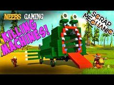 Scrap Mechanic - Killing Machines! - YouTube